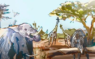 帮孩子找回大象(保护大象公益宣传片)