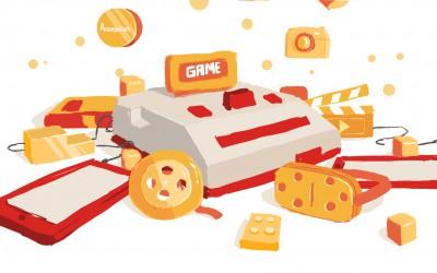奥飞游戏品牌宣传动画