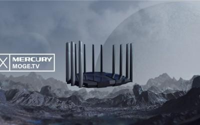 Mercury幻影无线路由器三维概念产品动画