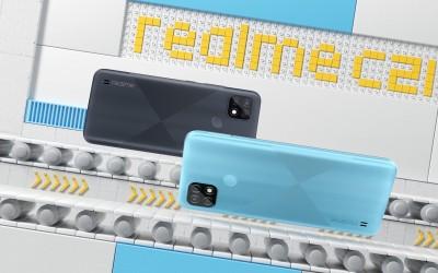 realme C21 产品展示动画
